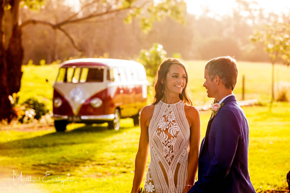 Cute Sunshine Coast Wedding Cars